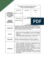 SPO Informasi Hak Dan Kewajiban Pasien