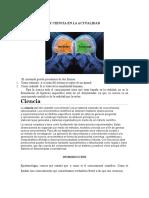 Epistemología y Ciencia en La Actualidad