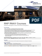 Required Navigation Performance Area Navigation LFT