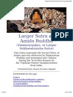 Larger Sutra on Amida Buddha