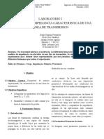 Laboratorio I - Medidas de la Impedancia Característica de una Línea de Transmisión