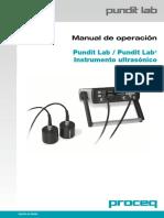 Pundit Lab Operating Instructions Spanish High