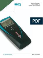 Profoscope Operating Instructions Spanish High