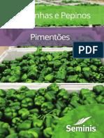 Catálogo Abobrinha Pepino e Pimentão Online Saída