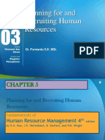 Planning for and Recruiting Human Resource