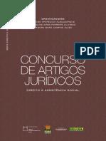 Concurso de Artigos Juridicos- DIREITO À ASSISTÊNCIA SOCIAL