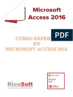 Curso Experto Access 2016