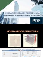 2 - Modelamiento Geométrico en Etabs