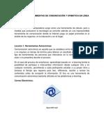 Bibliografia Unad-Capitulo5 Herramientas de Comunicacion Y Ofimatica en Linea