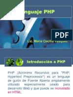 Lenguaje PHP Clase 1
