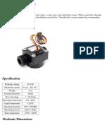 Datasheet Flow