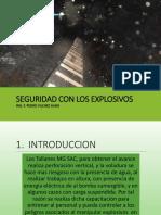 Seguridad Con Los Explosivos