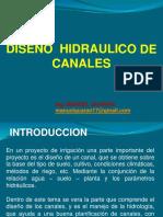 Diseño Hidraulico de Canales