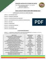 Regulamento Especifico FGFS - SERIE BRONZE 2017