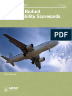 Aviation Biofuel Sustainability Survey 2014