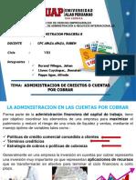 ADMINISTRACION DE CUENTAS POR COBRAR APAZA.ppt