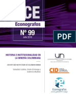 Historia e Institucionalidad en La Mineria Colombiana - Unal - 2016
