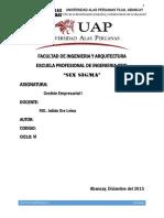 Monografia Del Six Sigma