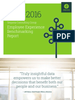 Employee Experience Benchmarking Report © Sequoia