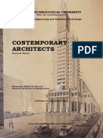 148966811 Contemporary Architecture