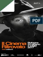 Il Cinema Ritrovato 2017 Programma