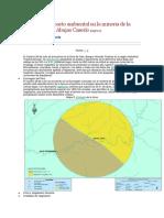 Estudio de Impacto Ambiental en La Mineria de La Cuenca Del Rio Abujao Caserío