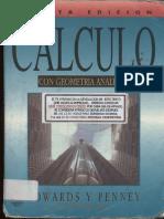 Cálculo Con Geometría Analítica - 4ta Edición - Edwards & Penney