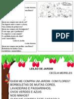 Leilao de Jardim