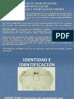 Tecnicas de Identificacion Antropologicas