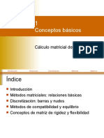 CLASE I Conceptos Basicos Analisis Estructural II