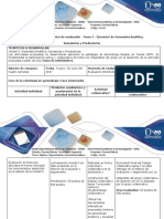 Guía de actividades y rubrica de evaluación Tarea 7 - Desarrollar ejercicios de Geometría Analítica, Sumatorias y Productorias