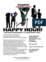 Combating the Judicial Foreclosure Slaughterhouse Aug 4th 530pm West Palm Beach FL Monthly Happy Hour