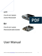 MiniDSP 2x4 and Kit - User Manual