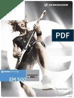 EM 500 Owners Manual