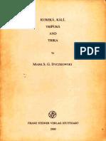 Mark Dyczkowski - 2000 - Kubjika, Kali, Tripura, and Trika (OCR) (73p).pdf