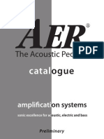 AER Amplifiers Catalog Eng