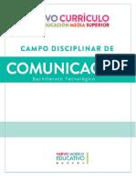 Nuevo Curr Comunicacion 2017