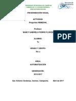 Programación Visual UTCAM Preguntas REMEDIAL/REGULA