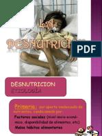 DESNUTRICION SEMIOLOGIA