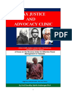 Tax Justice and Advocacy Clinic 2