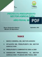 Ministro Agricultura