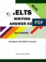 Ielts Writing Answer Key Maximiser Standard