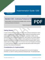 IG1230 Continuing Professional Development
