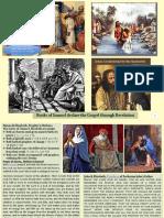 Parallels of Samuel to Baptist John & David to Jesus