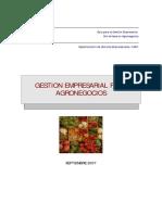 Gestion Empresarial Para Agronegocios GTZ 2007
