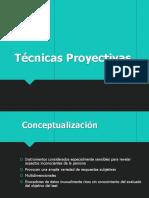 Clase 4. Tecnicas Proyectivas