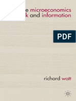 The Microeconomics of Risk and Information.pdf