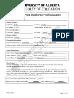 afx final evaluation
