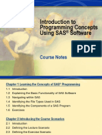 1 Base SAS Training 12th May 2015