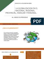 Efectos de La Globalizacion en El Aspecto Nacional